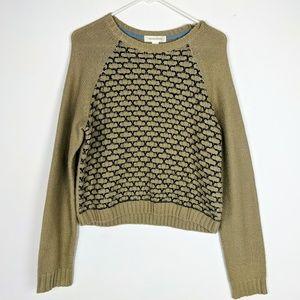 0c89bf14ff9 Anthropologie Sweaters - Treasure   Bond Box Stitch Knit Boxy Sweater Top